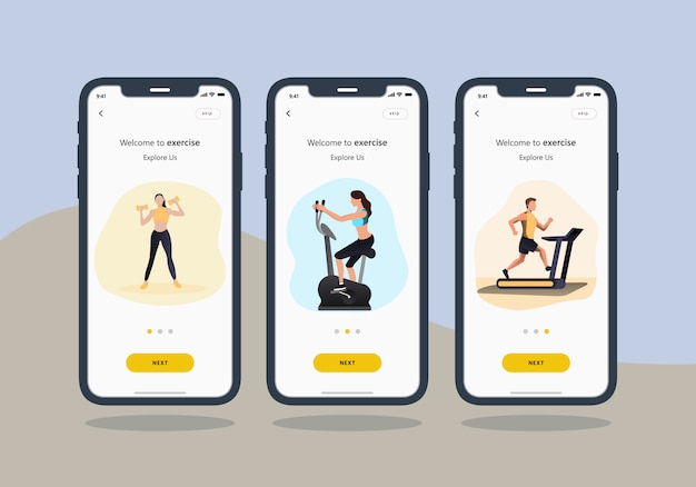 Exercise-add-activities-mobile-ui-design