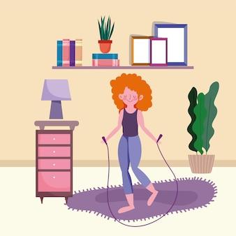 Делать упражнения дома