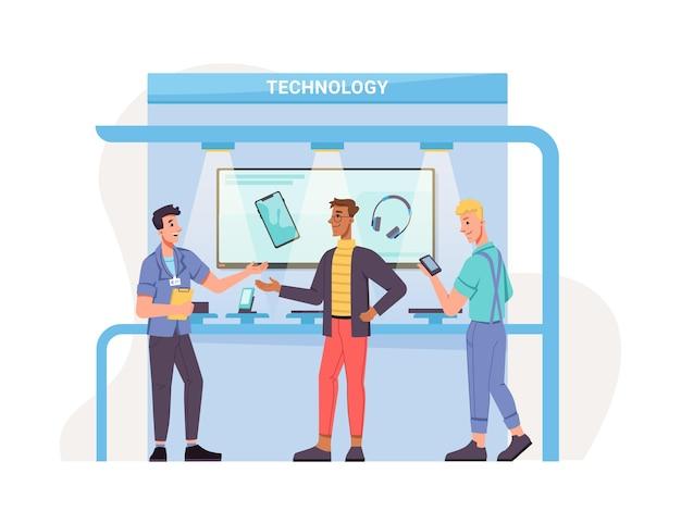 Выставка новых мобильных технологий