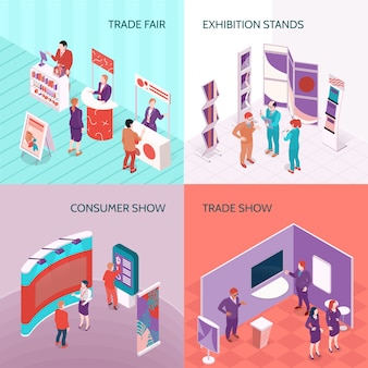Exhibition stands 2x2