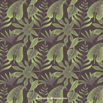 Exotic background with wild leaf