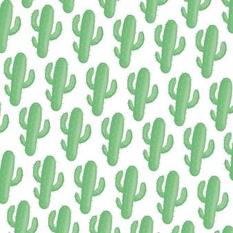 エキゾチックサボテンの植物の自然なパターン