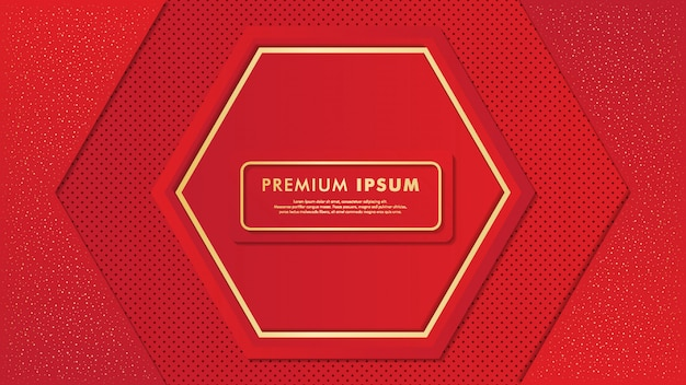 Expansive red background