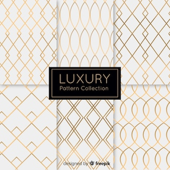 Expensive and luxury pattern collection
