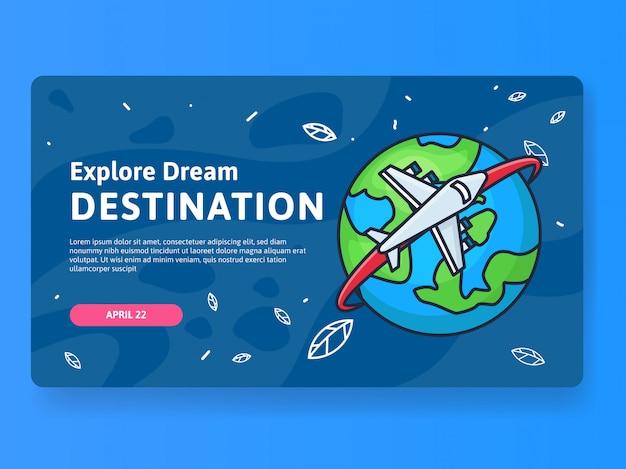 Explore dream destination tour
