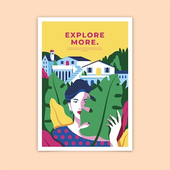 Explore more colorful poster