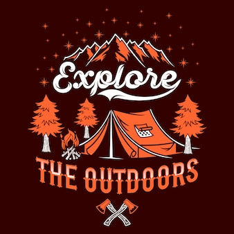 Explore the outdoor quotes saying