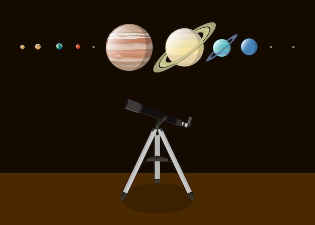 Explore planet with various kind of planet
