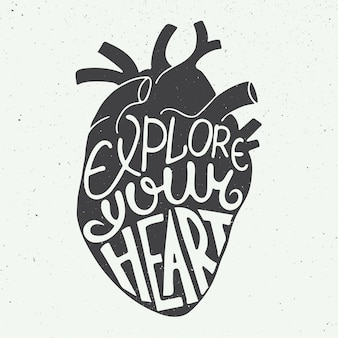 Explore your heart in anatomic heart