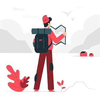 Exploring concept illustration