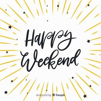 Explosion weekend greeting