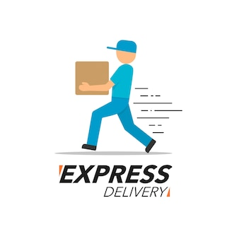 Express delivery icon concept