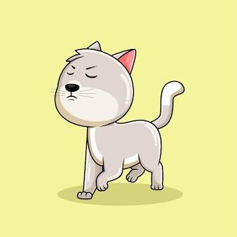 Выражение милый кот мультфильм