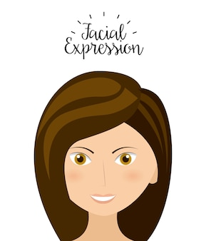 Expression facial design