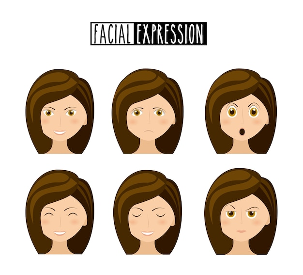 Expression facial design