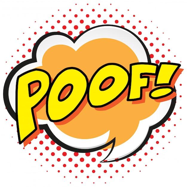 Poof에 대한 표현 단어