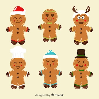 Expressions gingerbread man cookies christmas collection