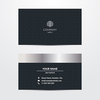 Exquisite template for business card