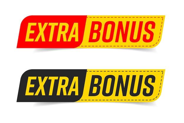 Extra bonus sticker