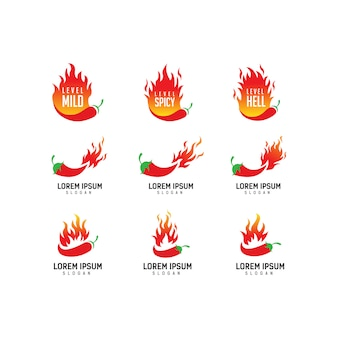 Extra spicy chili logo, chef, spicy food, spicy food festival,