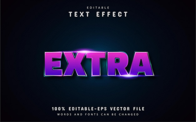 Extra text effects