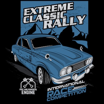 Extreme classic rally