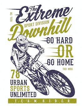 The extreme downhill