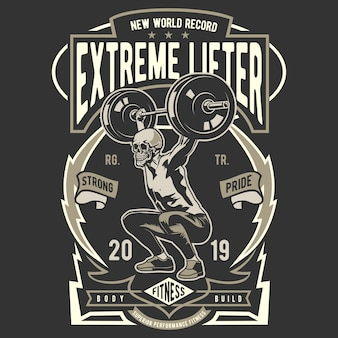Extreme lifter logo
