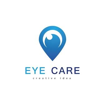 Дизайн логотипа для ухода за глазами