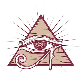 The eye of god symbol
