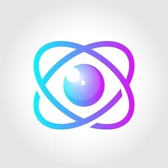 Логотип лаборатории глаза