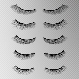 Eye lashes set