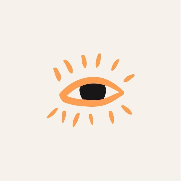 Глаз символ значок векторные иллюстрации