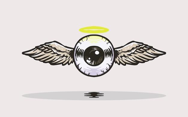 Eyeball angel