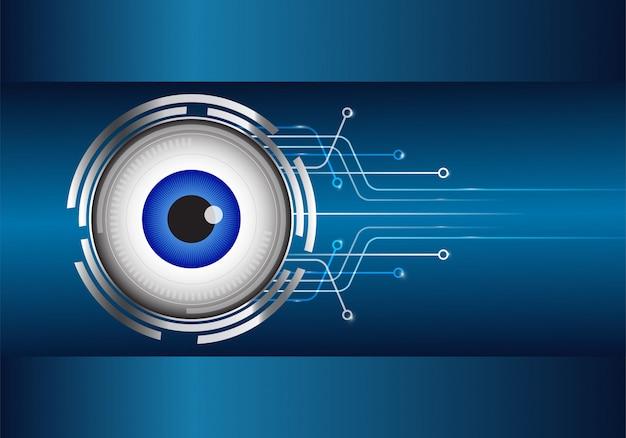 Eyeball on circuit board