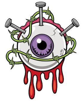 Eyeball zombie