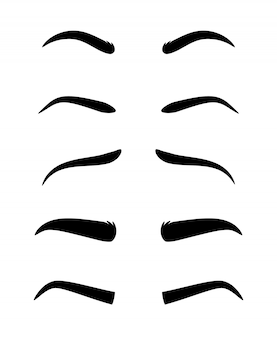 Eyebrow model set