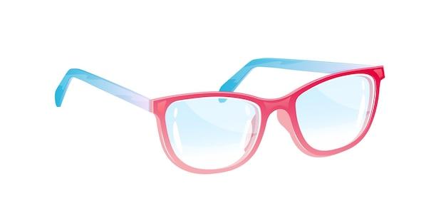Очки. очки. иллюстрация. Premium векторы