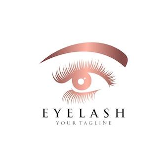 Eyelash extension logo   illustration