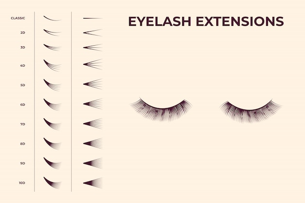 Eyelash volume boost set
