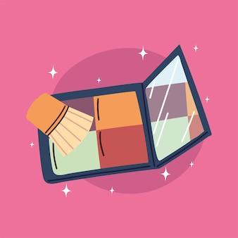 Eyeshadow palette makeup