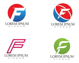 Letter f vectors photos and psd files free download f letter logo and symbols template vector icons maxwellsz
