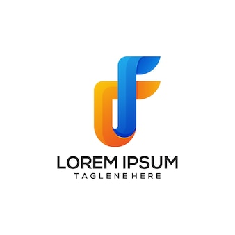 F logo colorful