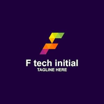 Fピクセルの初期ロゴ