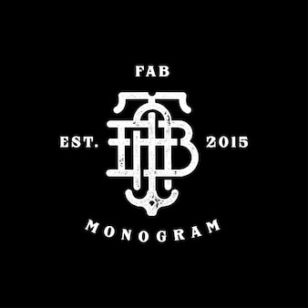 Fab monogram
