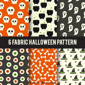 패브릭 할로윈 패턴