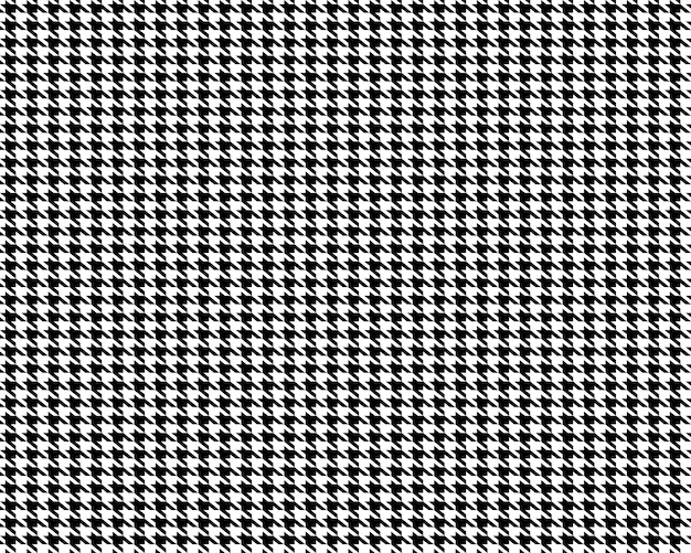Fabric houndstooth seamless pattern background.