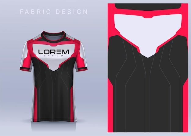 スポーツtシャツのファブリックテキスタイルデザインサッカークラブのサッカージャージーモックアップ