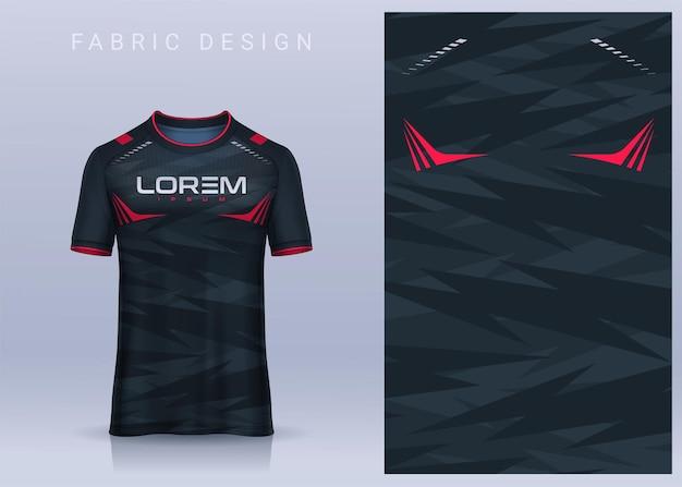 Ткань текстильный дизайн для спортивной футболки мокап футболки для футбольного клуба