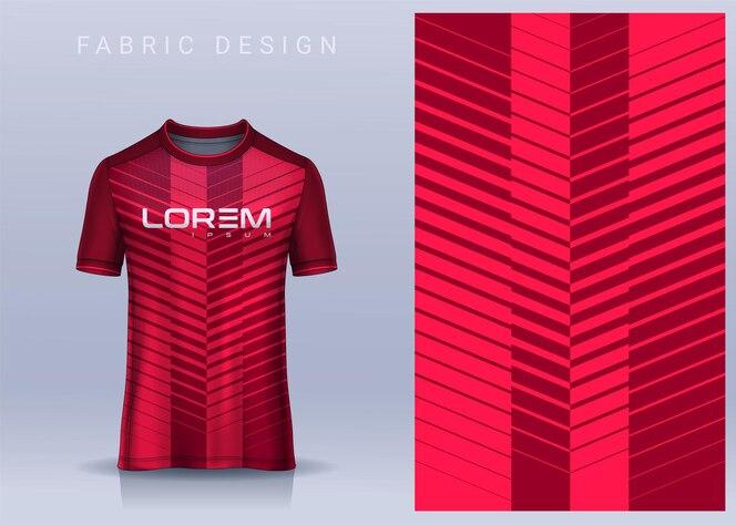 Tshirt 축구 유니폼 용 직물 섬유 디자인
